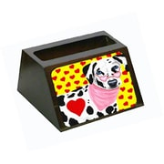 Carolines Treasures Hearts and Dalmatian Business Card Holder (CRlT87810)