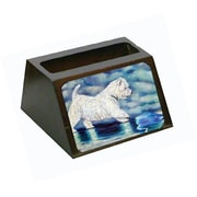 Carolines Treasures Misty Westie Business Card Holder (CRlT79041)