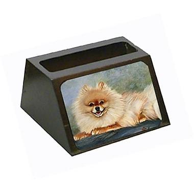 Carolines Treasures Pomeranian Full Body Business Card Holder (CRlT79373)