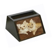 Carolines Treasures Chihuahua For The Pair Business Card Holder (CRlT79257)