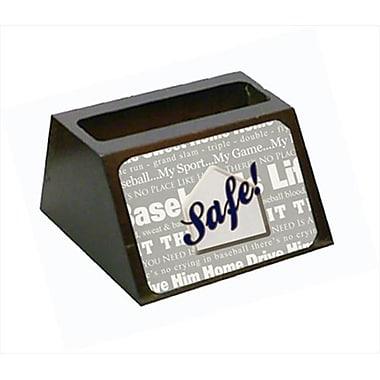 Carolines Treasures Safe At Home Decorative Desktop Professional Wooden Business Card Holder (CRlT56062)