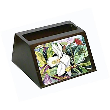 Carolines Treasures Magnolia Business Card Holder (CRlT80626)