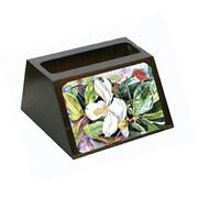 Carolines Treasures Magnolia Business Card Holder (CRlT80626)