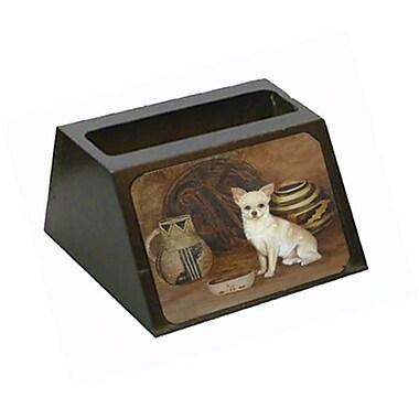 Carolines Treasures Chihuahua Ancient History Business Card Holder (CRlT79509)
