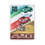 Fiat 500 Perpetual Calendar Tricolor, 14.6 x 10.6 in. (FRME019)