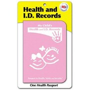 MDI Child Health Passport - Pink- Pack of 12 (MDI005)