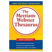 Merriam-Webster Hardback Thesaurus- 5-.75in.x8-.50in.- Paperback- 688 Pages (SPRCH14640)