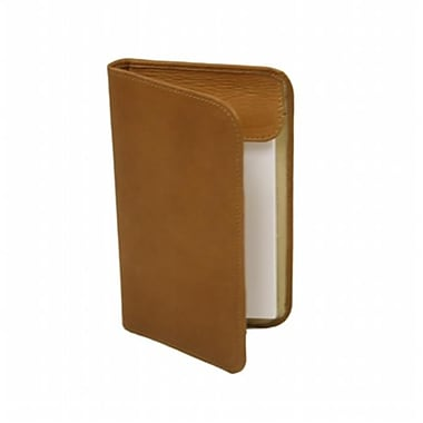 Piel leather Mini Notepad Holder- Saddle (PIEl1544)