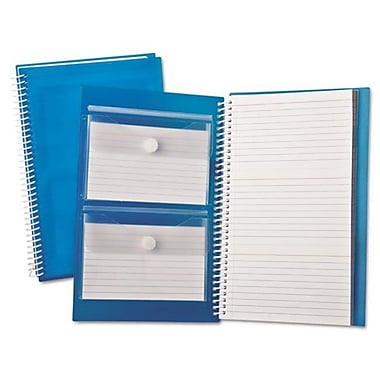 Oxford 3 x 5 Ruled Index Card Notebook - White (AZTY10631)