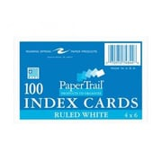 Roaring Spring Paper Products Index Cards - 100 Sheets Per Pack (RSPRD123)