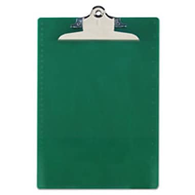 Saunders Recycled Plastic Clipboards, Green (AZTY13953)