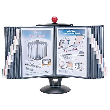 Aidata USA Info Station Reference Organizer with White Board and 20 display panels (ADTA147)