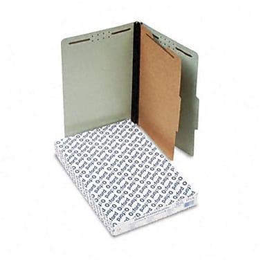 Esselte Pendaflex Pressboard Classification Folders legal 4-Section Green 10/box (AZRESS17175)
