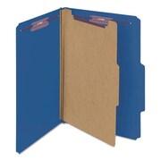 Smead Manufacturing Pressboard Classification Folders, Dark Blue (AZTY14383)