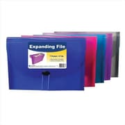 C-line Products 7-Pocket letter Size Expanding File - Color May Vary - Set of 4 Files (ClNP193)