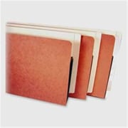 Kleer-Fax- Inc. File Pocket- 3-.50in. Expansions- 9in.x14-.75in.- Redrope-Manila (SPRCH9287)