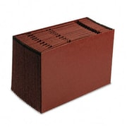 Esselte Pendaflex EarthWise Recycled A-Z Expanding File 21 Pockets Red Fiber legal Red (AZRESSER19A)