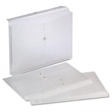 Esselte Pendaflex Expandable Poly String and Button Booklet Envelope 14 1/2 x 9 Blue 3 Pack (AZRESS638143)