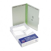 Esselte Pendaflex Pressboard Folders with two 2 Cap Fasteners legal Green 25/bx (AZRESS17186)