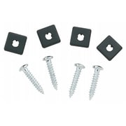 Bell Automotive - Victor 4 Pack Chrome license Fasteners (JNSN1315)