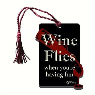 Grimm Wine Flies When Youre Having Fun Bottle Gift Magnet Tag (GC22939)