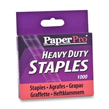 Accentra- Inc. Heavy-duty Staples- .50in. Crown-leg- 100 Staples per Strip (SPRCH10349)