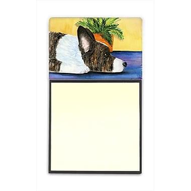 Carolines Treasures Corgi Refiillable Sticky Note Holder or Postit Note Dispenser (CRlT60412)