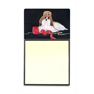 Carolines Treasures Shih Tzu Refiillable Sticky Note Holder or Postit Note Dispenser (CRlT60490)