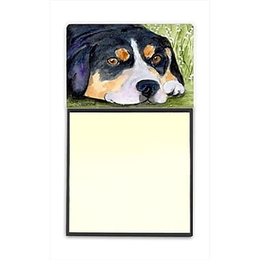 Carolines Treasures Entlebucher Mountain Dog Refiillable Sticky Note Holder or Postit Note Dispenser (CRlT60494)