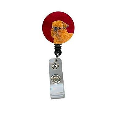 Carolines Treasures Brussels Griffon Retractable Badge Reel or ID Holder with Clip (CRlT24521)
