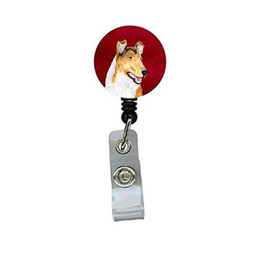 Carolines Treasures Collie Smooth Retractable Badge Reel or ID Holder with Clip (CRlT24451)