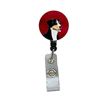 Carolines Treasures Entlebucher Mountain Dog Retractable Badge Reel or ID Holder with Clip (CRlT24550)
