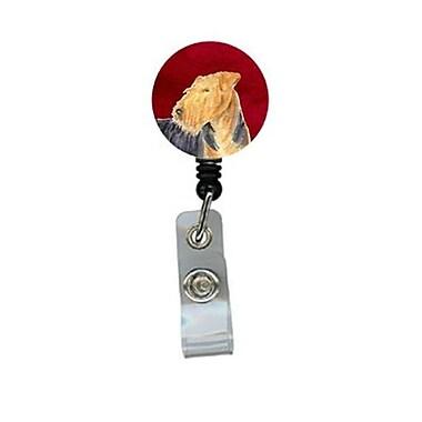 Carolines Treasures Welsh Terrier Retractable Badge Reel or ID Holder with Clip (CRlT24528)