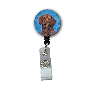 Carolines Treasures Dachshund Retractable Badge Reel Or Id Holder With Clip (CRlT26962)