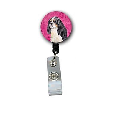 Carolines Treasures Cavalier Spaniel Retractable Badge Reel Or Id Holder With Clip (CRlT26757)