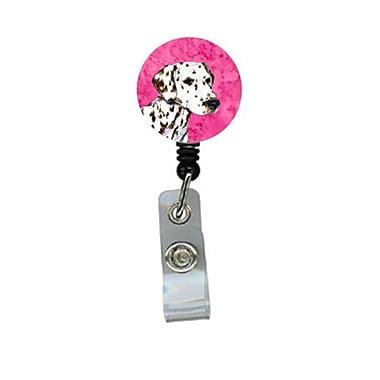 Carolines Treasures Dalmatian Retractable Badge Reel Or Id Holder With Clip (CRlT27081)
