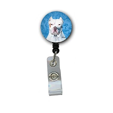 Carolines Treasures Pit Bull Retractable Badge Reel Or Id Holder With Clip (CRlT27202)