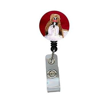 Carolines Treasures Shih Tzu Retractable Badge Reel or ID Holder with Clip (CRlT24474)