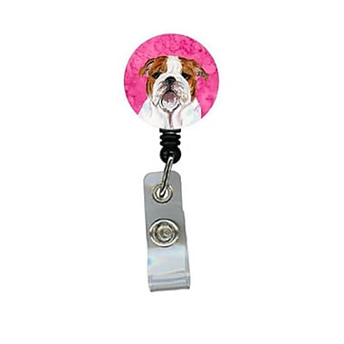 Carolines Treasures Bulldog English Retractable Badge Reel Or Id Holder With Clip (CRlT27239)