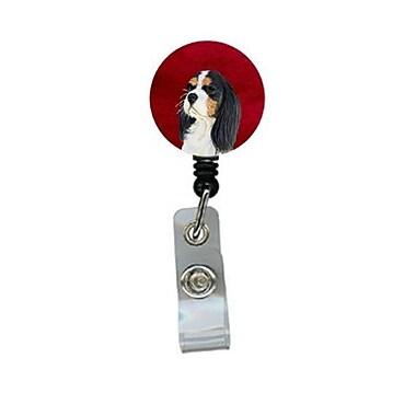 Carolines Treasures Cavalier Spaniel Retractable Badge Reel or ID Holder with Clip (CRlT24367)
