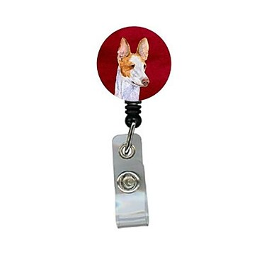 Carolines Treasures Ibizan Hound Retractable Badge Reel or ID Holder with Clip (CRlT24034)