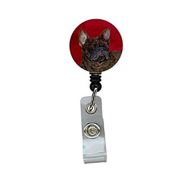 Carolines Treasures French Bulldog Retractable Badge Reel or ID Holder with Clip (CRlT24415)
