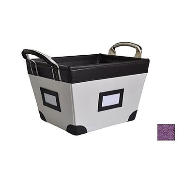 Yu Shan CO USA ltd Small Storage Basket Plum Regal (YUSHN120)