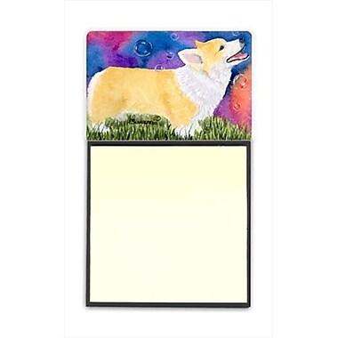 Carolines Treasures Corgi Refiillable Sticky Note Holder or Postit Note Dispenser (CRlT60551)