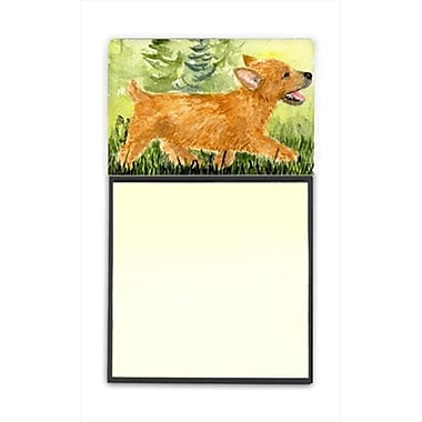 Carolines Treasures Norwich Terrier Refiillable Sticky Note Holder or Postit Note Dispenser (CRlT60577)