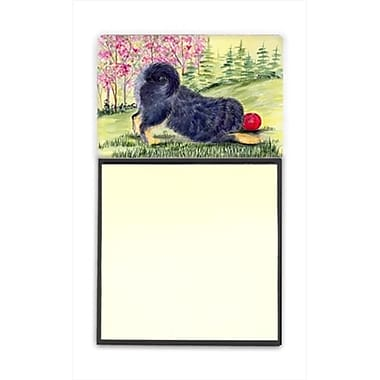 Carolines Treasures Tibetan Mastiff Refiillable Sticky Note Holder or Postit Note Dispenser (CRlT60499)