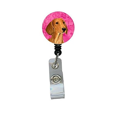 Carolines Treasures Dachshund Retractable Badge Reel Or Id Holder With Clip (CRlT27262)