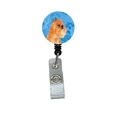 Carolines Treasures Brussels Griffon Retractable Badge Reel Or Id Holder With Clip (CRlT27817)