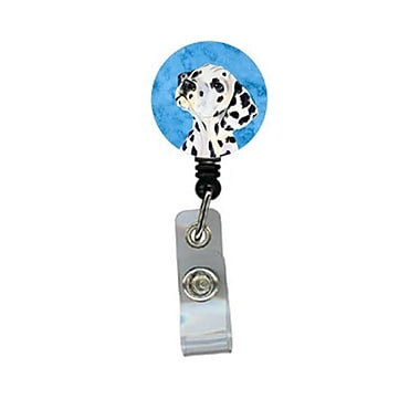 Carolines Treasures Dalmatian Retractable Badge Reel Or Id Holder With Clip (CRlT27805)