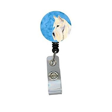 Carolines Treasures Scottish Terrier Retractable Badge Reel Or Id Holder With Clip (CRlT28099)